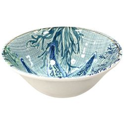 Coastal Home Coral Reef Starfish Cereal Bowl