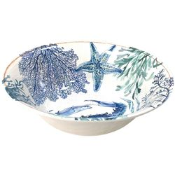 Coastal Home Sea Life Serving Bowl