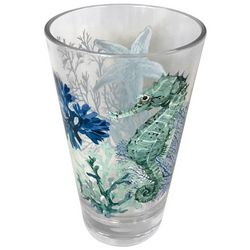 Coastal Home 19 oz. Sea Life Highball Glass