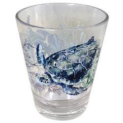 Coastal Home 14 oz. Sea Life Double Old Fashioned Glass