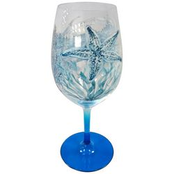 Coastal Home 20 oz. Sea Life Wine Glass