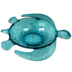 Coastal Home Sea Life Large Turtle Shaped Bowl