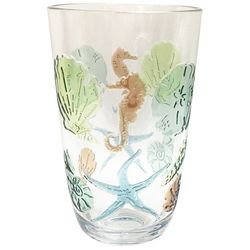 Tropix 20 oz. Embossed Scallop Shell Highball Glass