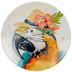 Tropix Florida Travel Parrot Appetizer Plate