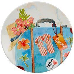 Tropix Florida Travel Luggage Appetizer Plate