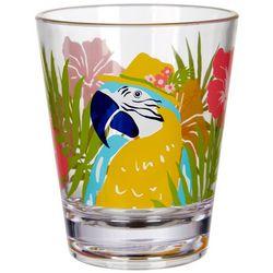 Tropix 14 oz. Florida Travel Parrot DOF Glass