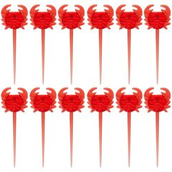 Tropix 12-pc. Crab Shaped Pick Set