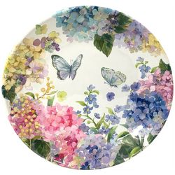 Coastal Home Butterfly Dinner Plate