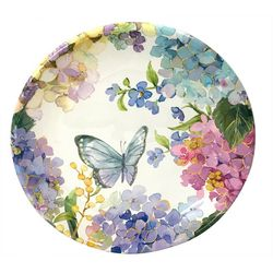 Coastal Home Butterfly Salad Plate