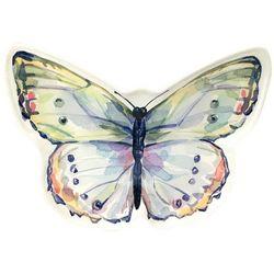 Coastal Home Butterfly Shaped Plate