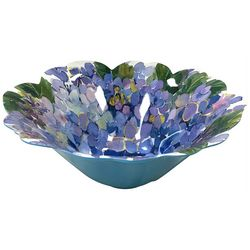 Coastal Home Butterfly Flower Shaped Bowl
