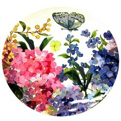 Coastal Home Butterfly Appetizer Plate