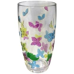 Coastal Home 20 oz. Butterfly Highball Glass