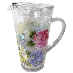 Coastal Home 2.7 qt. Butterfly Pitcher
