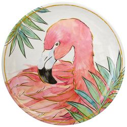 Coastal Home Flamingle Flamingo Salad Plate