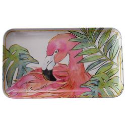 Coastal Home Flamingle Flamingo Tidbit Tray