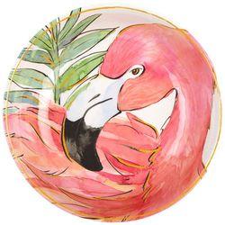 Coastal Home 3-pc. Flamingle Serving Bowl & Utensil
