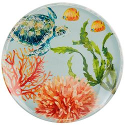Coastal Home Tortuga Appetizer Plate