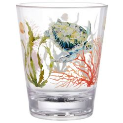 Coastal Home 14 oz. Tortuga Double Old Fashioned Glass