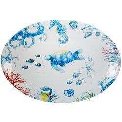 Coastal Home Seaventure Oval Platter