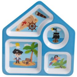 Gibson Pirates Childrens 4 Section Plate