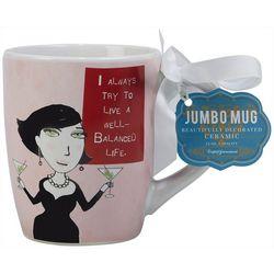 Certified International 24 oz. Well Balanced Life Mug
