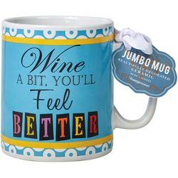 Certified International 30 oz. Wine A Bit Mug