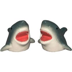JD Yeatts 2-pc. Shark Salt & Pepper Shaker Set
