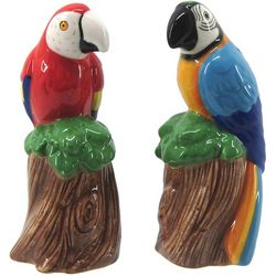 JD Yeatts 2-pc. Macaw Parrots Salt & Pepper Shaker Set