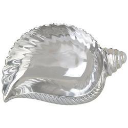 India Handicrafts Whelk Shell Serving Bowl