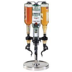 OGGI Corporation 3 Bottle Revolving Liquor Dispenser