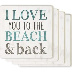 P. Graham Dunn 4-pc. Beach & Back Coaster Set