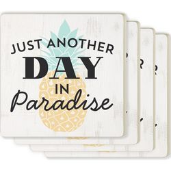P. Graham Dunn 4-pc. Day In Paradise Coaster Set