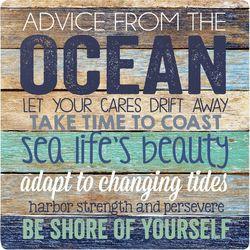 P. Graham Dunn Life Is Better Ocean Coaster