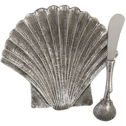 Towle 2-pc. Shell Dish and Spreader Set