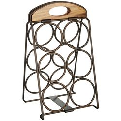 Mikasa Foldable 6 Wine Bottle Rack