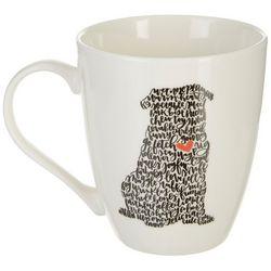 Pfaltzgraff Pug Script Mug