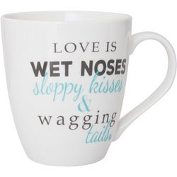 Pfaltzgraff Love Is Wet Noses Mug