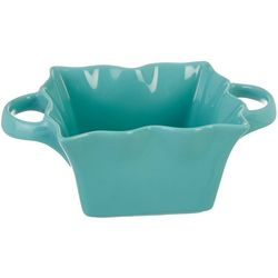10 Strawberry Street 8'' Square Bowl With Handles