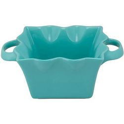 10 Strawberry Street Wavy Square Bowl With Handles