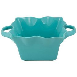 10 Strawberry Street Large Wavy Square Bowl With Handles