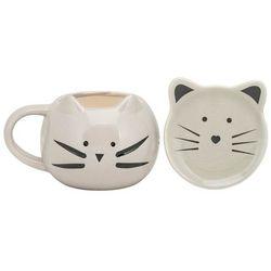10 Strawberry Street 2-pc. Cat Mug & Trinket Set