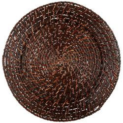 Jay Imports Round Rattan Charger Plate