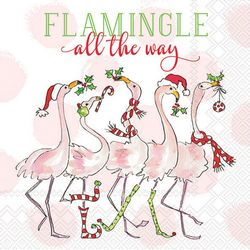 Boston International 20-pk. Flamingle Cocktail Napkins