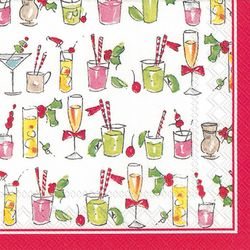 Boston International 20-pk. Fun Cocktails Cocktail Napkins
