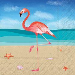 Boston International 20-pk. Flamingo Cocktail Napkins