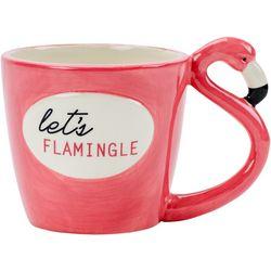 Boston Warehouse Let's Flamingle Mug
