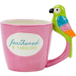 Boston Warehouse Feathered & Fabulous Parrot Mug