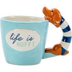 Boston Warehouse Dachshund Life Is Ruff Mug