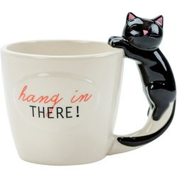 Boston Warehouse Hang In There Cat Mug